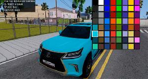 More Colors for all Vehicles
